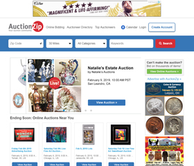 Online Auction Websites A-M – Boxes and Bags