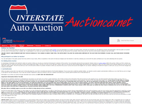 Interstate Auto Auction's online car auction